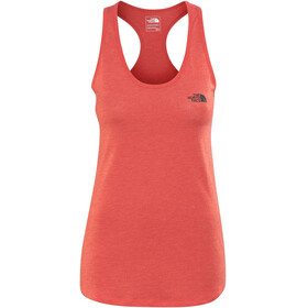 The North Face W's Play Hard Tank Juicy Red Heather